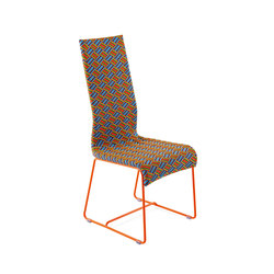Kente garden designer chair | Garden chairs | Varaschin