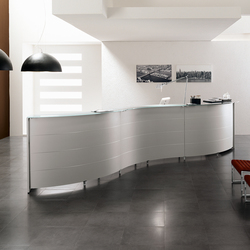 Luna | Reception desks | Sinetica Industries