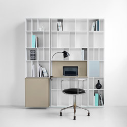 Flex Shelf System | Combinaisons de rangement | Piure