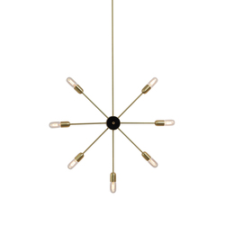 Astoria 7 arms wall lamp | Suspended lights | RUBEN LIGHTING