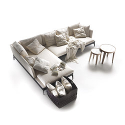 Feel Good Large sofa | Asientos modulares | Flexform