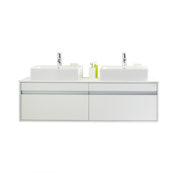 Ketho - Vanity units with integrated console | Vanity units | DURAVIT