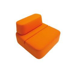 Movie armchair | Modular seating elements | Martela
