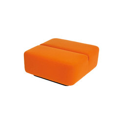 Movie pouf square | Modular seating elements | Martela