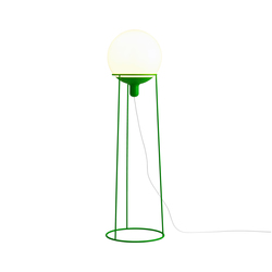 Dolly 36 floor lamp green | General lighting | Bsweden