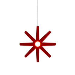 Fling 33 pendant small red | Iluminación general | Bsweden