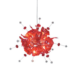 Kumulus 120 Chandelier red | General lighting | Bsweden