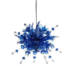 Kumulus 120 Chandelier blue | General lighting | Bsweden