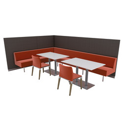 Terminus | Restaurant seating systems | Segis