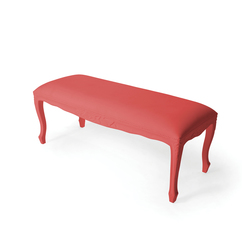 Plastic Fantastic large bench soft pink | Bancs | JSPR