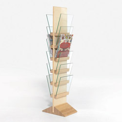 Front Freestanding FRDT 2566 | Brochure / Magazine display stands | Karl Andersson