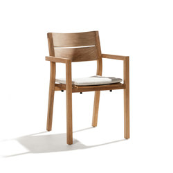 Kos Teak Armchair | Garden chairs | Tribu