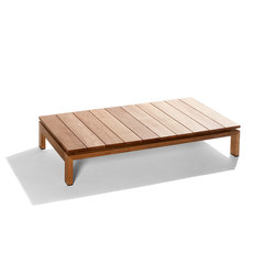 Kos Teak Coffee table | Tables basses de jardin | Tribù