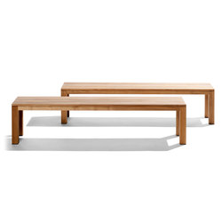 Kos Teak Tennisbench | Garden benches | Tribù