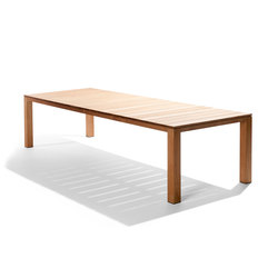 Kos Teak Table | Tables à manger de jardin | Tribù