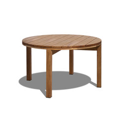 Kos Teak Round table | Tables à manger de jardin | Tribu