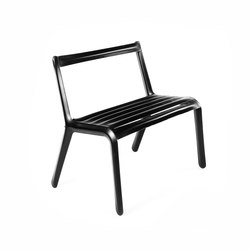 Unterdruck Slim | black | Garden benches | Zieta