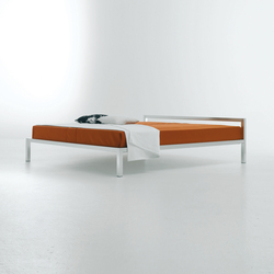 Aluminium Bed | Double beds | MDF Italia