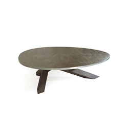 Crosstable 3-Beam Zinc | Tables de restaurant | ZinX