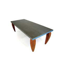 Queen Class Zinc | Dining tables | ZinX