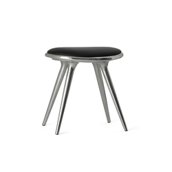 Low Stool recycled aluminum 47 | Hocker | Mater