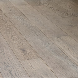 OAK Character brushed | grey oil | Wood flooring | mafi