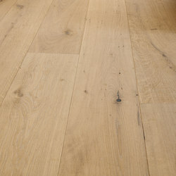 OAK Country wide-plank brushed | white oil | Wood flooring | mafi