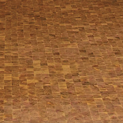 Domino LARCH Vulcano brushed | natural oil | Mosaïques en bois | mafi