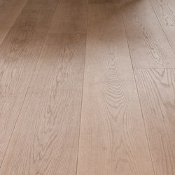 OAK Clear brushed | white oil | Wood flooring | mafi
