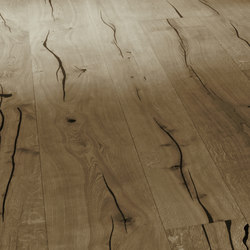 Coral OAK black brushed | grey oil | Wood flooring | mafi
