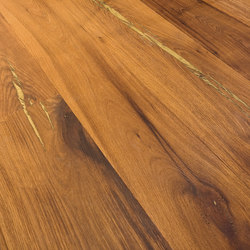Tiger OAK gold brushed | natural oil | Sols en bois | mafi