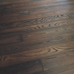 ASH Vulcano Dark brushed | white oil | Wood flooring | mafi