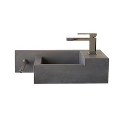 hochwertige waschtische waschtische aus beton auf architonic. Black Bedroom Furniture Sets. Home Design Ideas