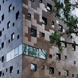 Blok 1: Dormitory in Arnheim | Ejemplos de fachadas | Rieder