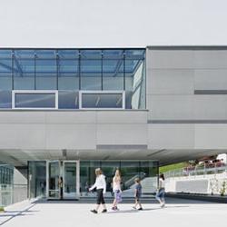 concrete skin | Elementary School St. Walburg | Facade systems | Rieder