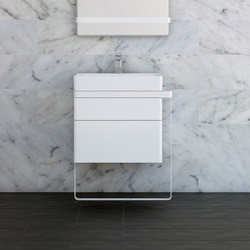 Structure Bathroom Furniture Set 10 | Meubles sous-lavabo | Inbani