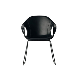 Elephant Cuir | Visitors chairs / Side chairs | Kristalia
