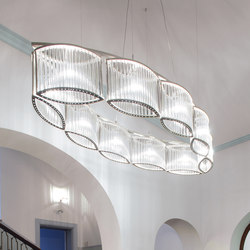 Stilio oval 10 | Suspended lights | Licht im Raum