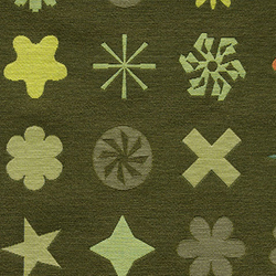 Dingbats 002 Olive | Tessuti | Maharam