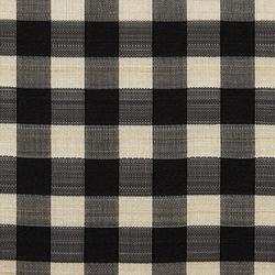 Horsehair Check 002 Black/Bone   Fabrics   Maharam