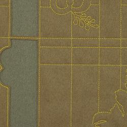 Layers Park Double 001 Mineral/Taupe/Lemon | Fabrics | Maharam