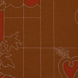 Layers Park Double 002 Sienna/Ginger/Rose | Fabrics | Maharam