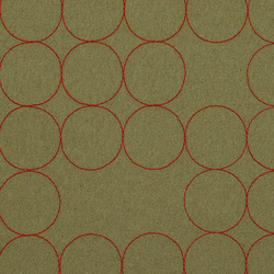 Layers Vineyard Large 004 Taupe/Crimson | Upholstery fabrics | Maharam