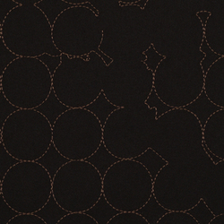 Layers Vineyard Large 005 Black/Mahogany | Fabrics | Maharam