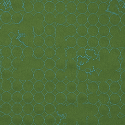 Layers Vineyard Small 004 Jade/Turquoise | Fabrics | Maharam