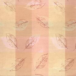 Leaflet Plaid 002 Coriander | Curtain fabrics | Maharam