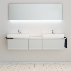 Structure Bathroom Furniture Set 2 | Mobili lavabo | Inbani
