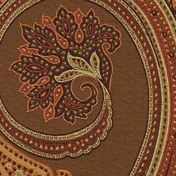 Massive Paisley 004 Walnut | Upholstery fabrics | Maharam