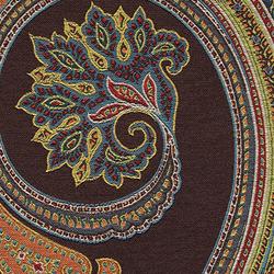 Massive Paisley 005 Earth | Upholstery fabrics | Maharam