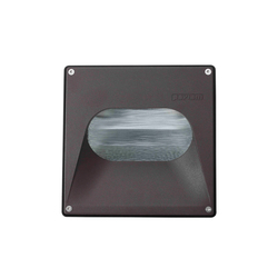 Murus Square | Recessed wall lights | Paviom
